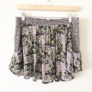 Kimchi Blue Urband Outfitters Floral Skort sz s